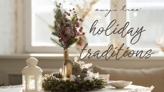 home dressed up according to holiday traditions